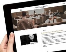 Découvrez le nouveau site internet de Guillaume Fourcade