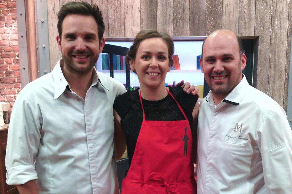 Cours de cuisine avec Sarah, grande gagnante de l'émission dans la peau d'un chef.